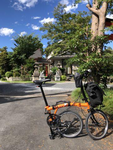 ツール・ド・御朱印 - 19 天明稲荷神社入り口