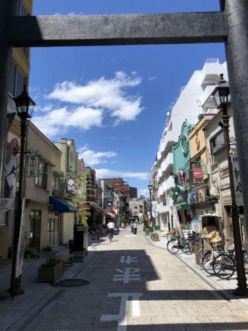 ツール・ド・御朱印 - 17 香取神社の参道