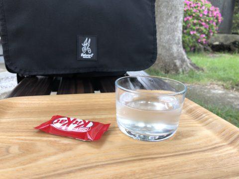 ツール・ド・御朱印 - 13 天明稲荷神社でいただいた梅ジュース