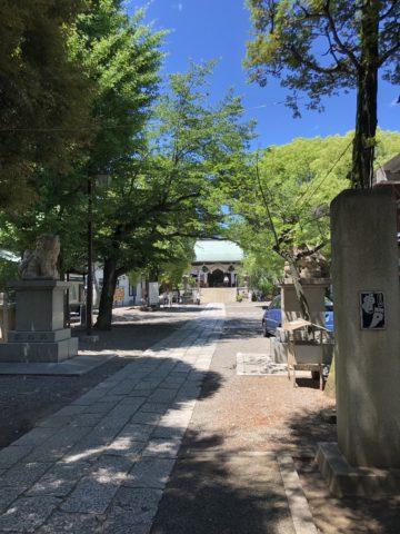 ツール・ド・御朱印 - 08 香取神社の境内