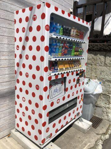 ツール・ド・御朱印 - 04 下神明神社の自動販売機