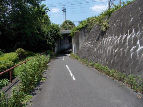 JR中央線の下