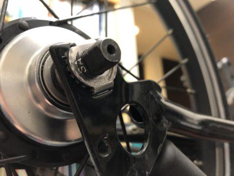 BROMPTONのタイヤ交換-30