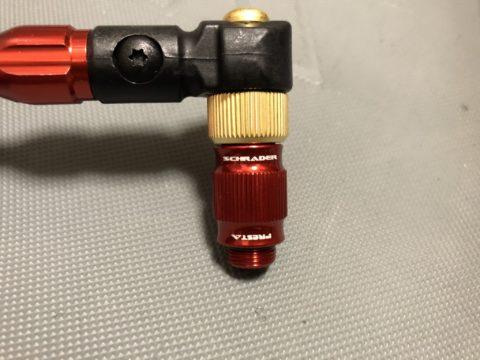 ポンプヘッドを交換- LEZYNE ABS-1 PRO HP-08