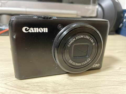 ありがとう! Canon PowerShot S90-01